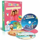 Kinderyoga, 3 DVD-Videos + 1 Audio-CD