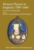 Women Players in England, 1500-1660 (eBook, ePUB)