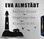 Kalter Grund & Engelsgrube & Blaues Gift / Pia Korittki Bd.1-3 (12 Audio-CDs) (Mängelexemplar)