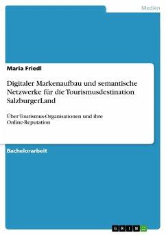 Digitaler Markenaufbau und semantische Netzwerke für die Tourismusdestination SalzburgerLand (eBook, PDF)
