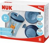NUK Evolution Cup Set Boy - Trinklernset All-in-1