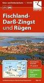 Reise- und Entdeckerkarte Fischland-Darß-Zingst und Rügen 1:100.000