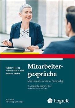 Mitarbeitergespräche - Hossiep, Rüdiger; Zens, Jennifer; Berndt, Wolfram