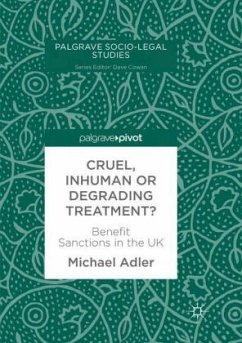 Cruel, Inhuman or Degrading Treatment? - Adler, Michael