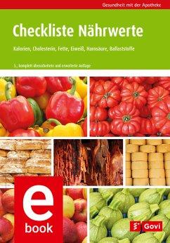 Checkliste Nährwerte (eBook, PDF)