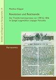 Revolution und Reichsende (eBook, PDF)