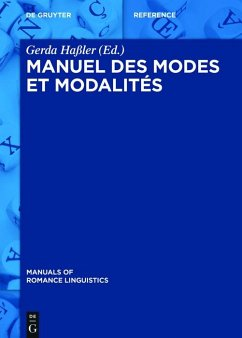 Manuel des modes et modalités (eBook, ePUB)