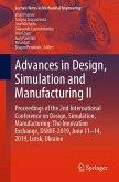 Advances in Design, Simulation and Manufacturing II (eBook, PDF)