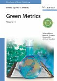 Handbook of Green Chemistry - Green Metrics (eBook, ePUB)