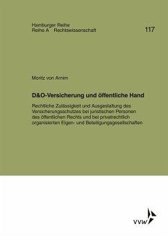 D&O-Versicherung und öffentliche Hand (eBook, PDF) - Arnim, Moritz von