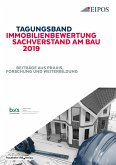Tagungsband Immobilienbewertung und Sachverstand am Bau 2019. (eBook, PDF)