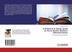 A Research & Study Guide to Percy Bysshe Shelley's Selected Poems