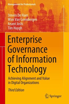 Enterprise Governance of Information Technology - De Haes, Steven; Van Grembergen, Wim; Joshi, Anant