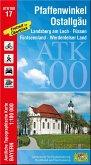 Amtliche Topographische Karte Bayern Pfaffenwinkel, Ostallgäu