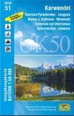 Topographische Karte Bayern Karwendel