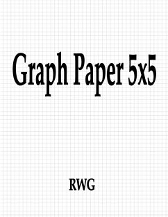 "Graph Paper 5x5 100 Pages 8.5"" X 11"""