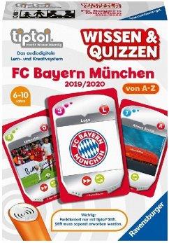 Ravensburger 00006 - tiptoi® Wissen & Quizzen: FC Bayern München 2019/2020, Kartenspiel