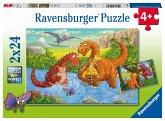 Spielende Dinos (Kinderpuzzle)