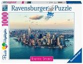 Ravensburger 14086 - Beautiful Skylines, New York, Puzzle, 1000 Teile