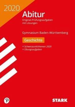 Abiturprüfung BaWü 2020 - Geschichte