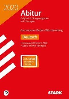 Abiturprüfung BaWü 2020 - Deutsch