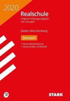 Original-Prüfungen Realschule 2020 - Deutsch - BaWü