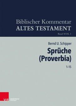 Sprüche (Proverbia) (eBook, PDF) - Schipper, Bernd U.