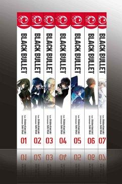 Black Bullet - Light Novel, Bände 1 bis 7 (eBook, ePUB) - Ukai, Saki; Kanzaki, Shiden