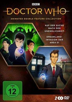 Doctor Who - Animated Double Feature Collection: Dreamland / Auf der Suche nach der Unendlichkeit Double Up Collection - Tennant,David/Bowerman,Lisa/Warner,David