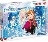 Frozen, Glitter Puzzle (Kinderpuzzle)