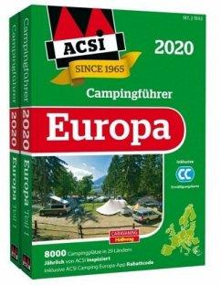 ACSI Internationaler Campingführer Europa 2020 - Wagner, Ingo