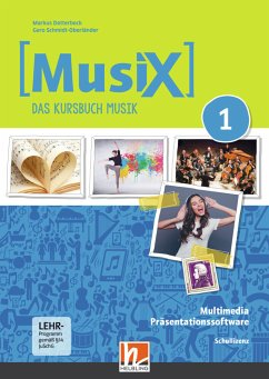 MusiX 1. Multimedia CD-ROM (Netzwerk). Neuausgabe 2019, DVD-ROM