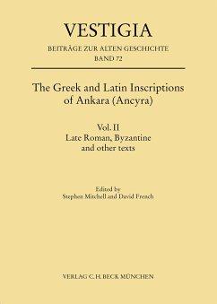 The Greek and Latin Inscriptions of Ankara (Ancyra) (eBook, PDF)