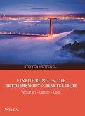 Einführung in die Betriebswirtschaftslehre (eBook, ePUB)