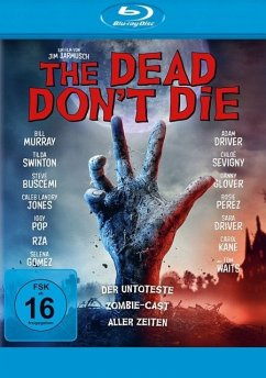 The Dead Don't Die - Bill Murray,Adam Driver,Steve Buscemi