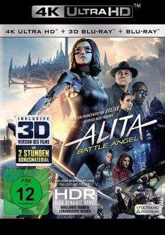 Alita: Battle Angel (4K Ultra HD + Blu-ray 3D + Blu-ray)