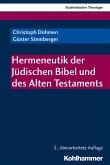 Hermeneutik der Jüdischen Bibel und des Alten Testaments (eBook, ePUB)