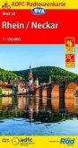 ADFC-Radtourenkarte Rhein /Neckar