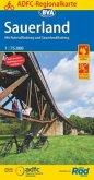 ADFC-Regionalkarte Sauerland mit Tagestouren-Vorschlägen