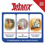 Asterix - Hörspielbox 6, 3 Audio-CDs