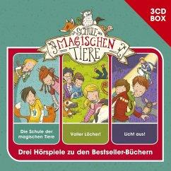 Die Schule der magischen Tiere - 3-CD Hörspielbox Vol. 1, 3 Audio-CDs - Auer, Margit