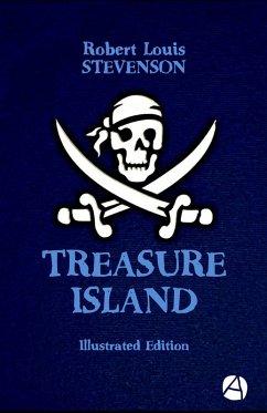 Treasure Island (Illustrated Edition) (eBook, ePUB) - Stevenson, Robert Louis