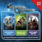 Hörspielbox: Die Festung im All, Angriff der Robotroxe & Der Planet aus Eis / Sternenritter Bd.1-3 (3 Audio-CDs)
