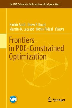 Frontiers in PDE-Constrained Optimization (eBook, PDF)