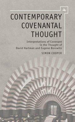 Contemporary Covenantal Thought (eBook, PDF) - Cooper, Simon