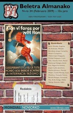 Beletra Almanako 34 (BA34 - Literaturo en Esperanto)