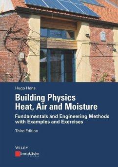 Building Physics: Heat, Air and Moisture (eBook, ePUB) - Hens, Hugo
