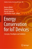 Energy Conservation for IoT Devices (eBook, PDF)