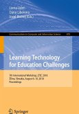 Learning Technology for Education Challenges (eBook, PDF)