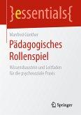 Pädagogisches Rollenspiel (eBook, PDF)